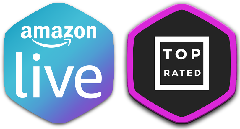 Amazon Live and Top Rated Giveaway